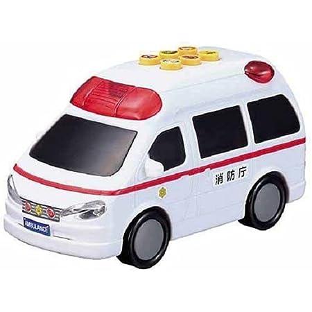 マルカ(Maruka) おしゃべりピカピカ救急車 19.7x16.4x9.2cm 199636