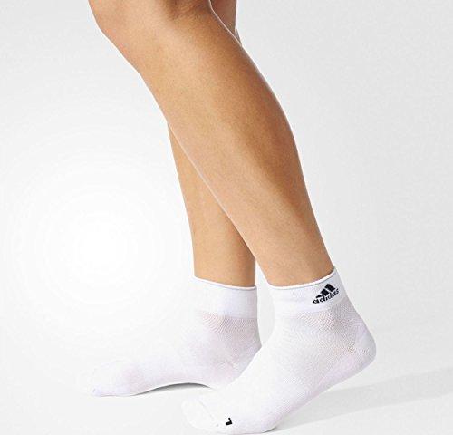 adidas R Ligh ANK T 1P Calcetines, Hombre, Blanco (Blanco/Negro/Refsil), 40/42