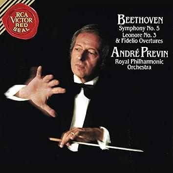 Beethoven: Symphony No. 5 in C Minor, Op. 67, Fidelio Overture, Op. 72b & Leonore Overture No. 3, Op. 72a