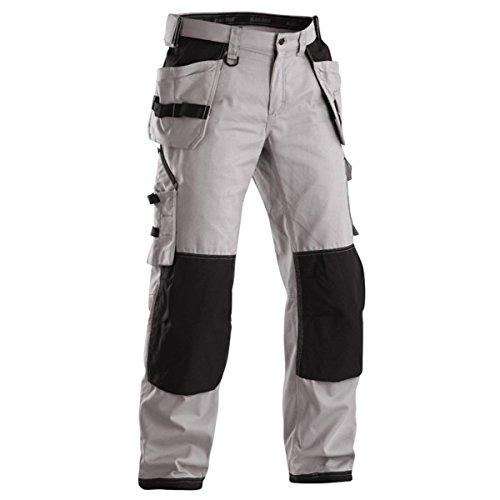 Blakläder 196111469199D120 Trousers Craftman NYCO Size D120 in Light Grey/Black