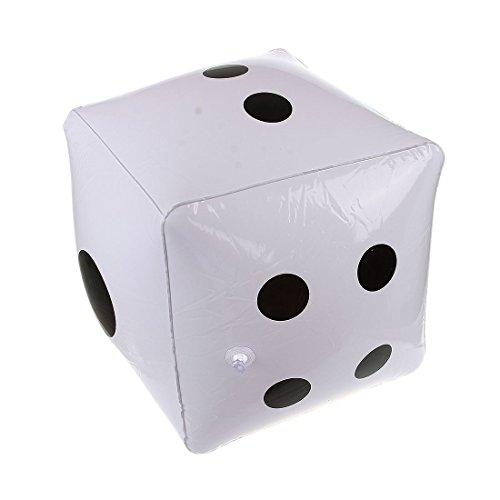 TOOGOO(R) grandi dadi gonfiabili per piscina giocattolo partiti favori
