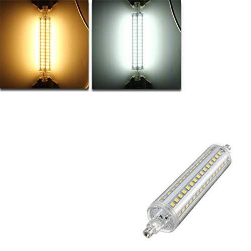 Bazaar R7S 135mm reine 90SMD 2835LED 10W Warmweiß Kaltweiß die Lampe des Bulbus AC85–265V