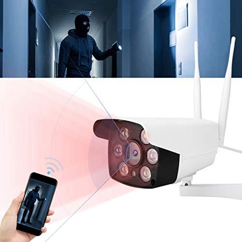Cámara de seguridad Cámara inalámbrica en tiempo real, con micrófono, con altavoz, para oficina, para el hogar(Regulador británico)