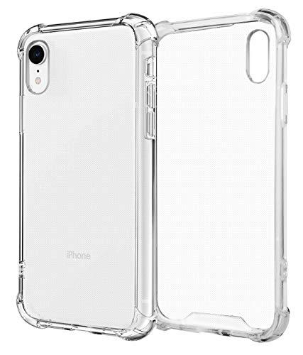 MyGadget Custodia Protettiva in TPU per Apple iPhone XR - Bumper Case Angoli Rinforzati Resistente - Cover Silicone Antiurto - Trasparente