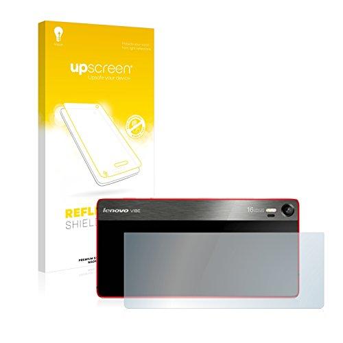 upscreen Entspiegelungs-Schutzfolie kompatibel mit Lenovo Vibe Shot (Rückseite) – Anti-Reflex Bildschirmschutz-Folie Matt