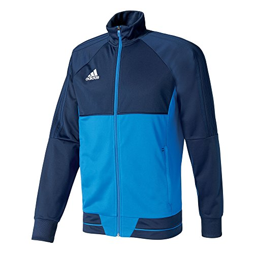 adidas Tiro 17 PES Jacket Chaqueta, Hombre, Azul/Blanco (Maruni), L