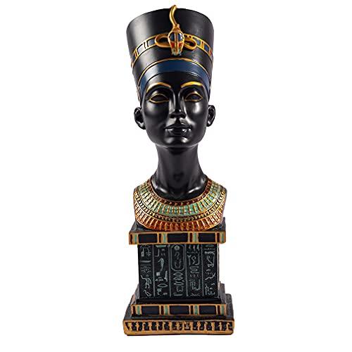 lachineuse Grand Buste Reine NÉFERTITI - Décoration Égyptienne