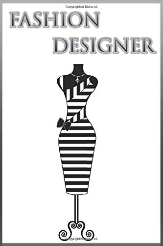 Fashion Designer: 365 pages 6x9  for Designing Many girls and young women dream of becoming fashion designers,Fashion designers design clothing and ... from high fashion to high-street fashion.