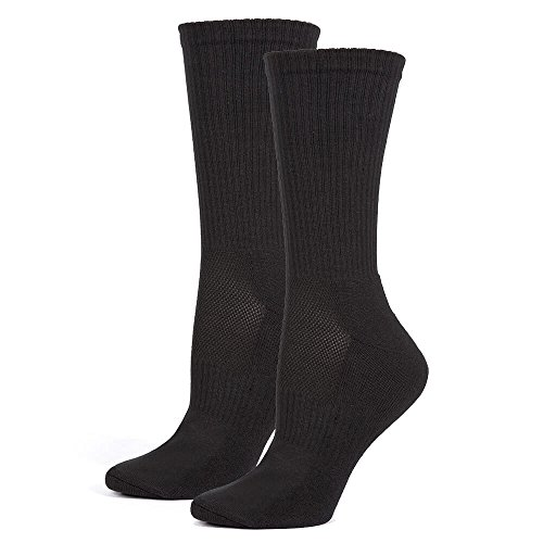 Safersox Mückensocken-Sportsocken Socken - Schwarz, 39-42
