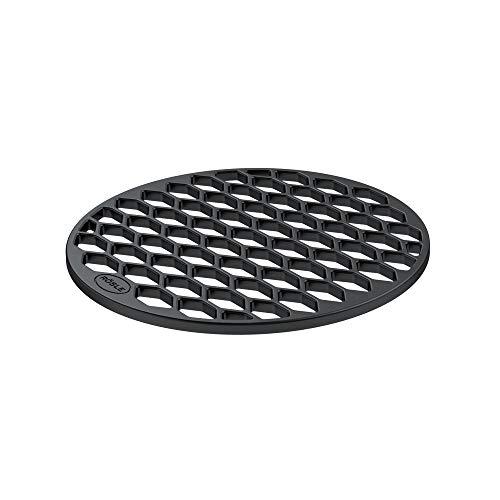 RÖSLE VARIO Grillrost RS, Hochwertiger Grillrost aus emailliertem Gusseisen, Grillbranding, 30 cm
