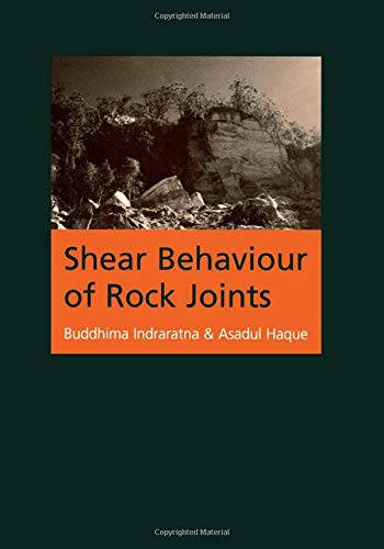 Shear Behaviour of Rock Joints