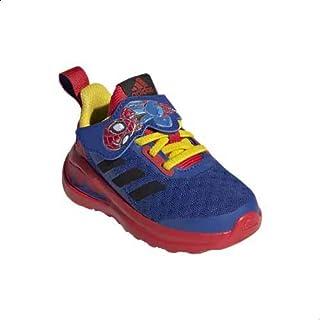 Adidas Fortarun Superhero El C Mesh Pull-Tab Superhero-Print Velcro-Strap Lace-Up Running Sneakers for Kids