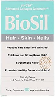 BioSil by Natural Factors, ch-OSA Advanced Collagen Generator, 60 Vegetarian Capsules