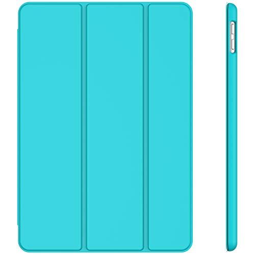 JETech Hülle für Apple iPad 7 (10,2 Zoll, Modell 2019, 7. Generation), Auto Schlafen/Wachen, Blau