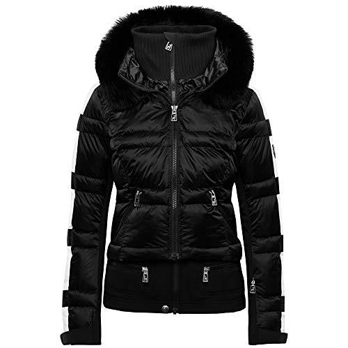 Toni Sailer Skijacke Virginie Fur Black/White