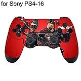 LjQQjDz - Adhesivo Decorativo para Mando de Sony PS4, diseño de Fortnite, algodón, Ps4-16, Talla única