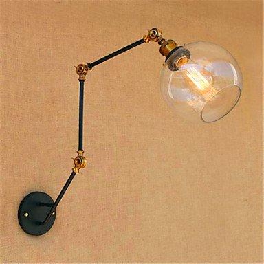 GAG-Spots muraux@ 40 /E27 Rustique/Campagnard Chromé Fonctionnalité for Ampoule incluse,Eclairage d'ambianceEclairage avec Bras