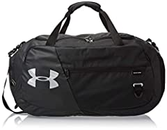 Idea Regalo - Under Armour Undeniable Duffel 4.0 MD, Borsa Unisex, Nero (Black), Taglia unica