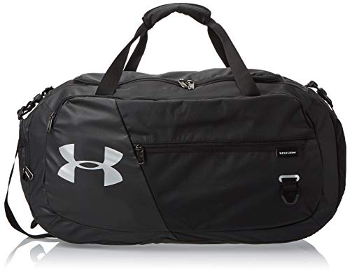 Under Armour Undeniable Duffel 4.0 MD, Borsa Unisex, Nero, M