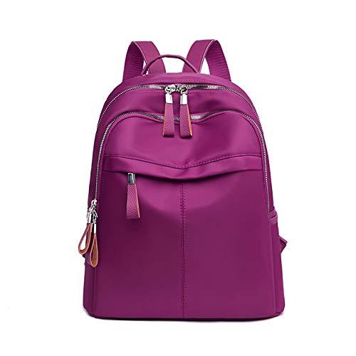 ZHEBEI Women's backpack travel waterproof women's shoulder bag large capacity rucksack