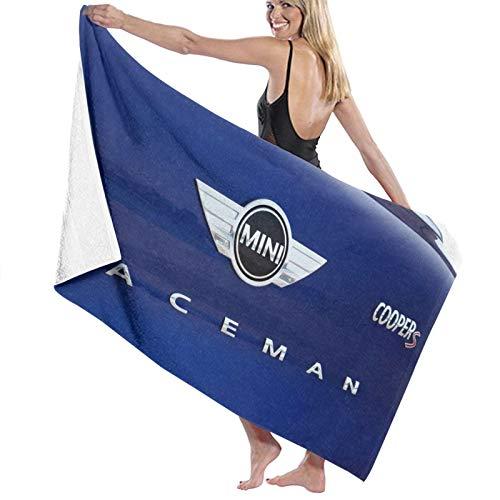 B-M-W - Toalla de playa de secado rápido, toalla de baño de microfibra, súper absorbente, ligera, para playa, piscina, natación, senderismo y uso en el hogar