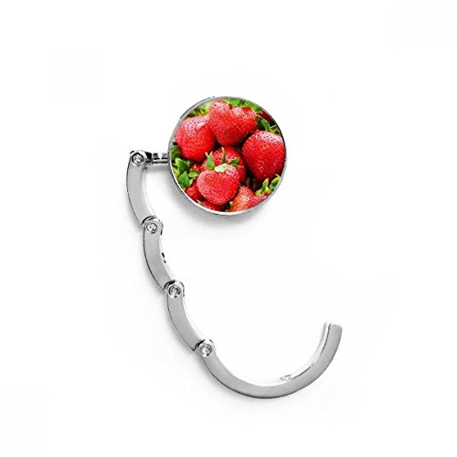 DIYthinker Fresca Fruta de la Fresa roja Tabla Imagen Gancho Plegable del...