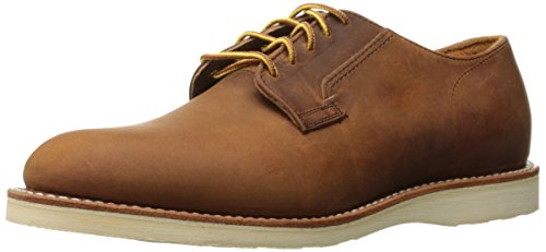 Red Wing Mens Postman Oxford 3118 Copper Leather Shoes 40 EU