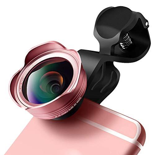 Mobiele telefoon Cameralens 5K HD Geen vervorming Groothoek Len Macro Externe telefoonlens