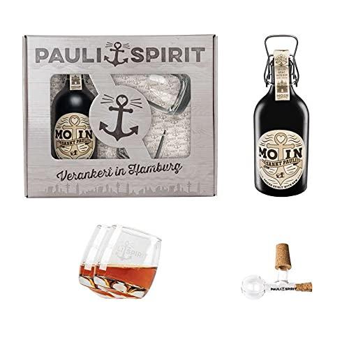 MOIN/Rum Geschenkset (mit 2 Tumblern und Ausgießer)