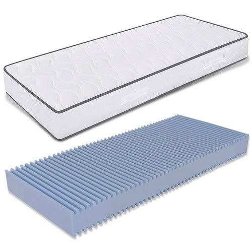 MiaSuite matrasses, Blanco, 70x 190x 18cm