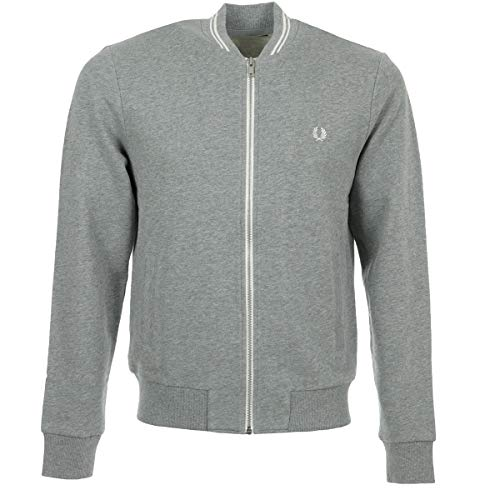 Fred Perry Bomber Neck Sweatshirt, Sportjackett - M