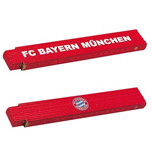 FC Bayern München Zollstock / Gliedermaßstab / Schmiege FCB - plus gratis Aufkleber forever München