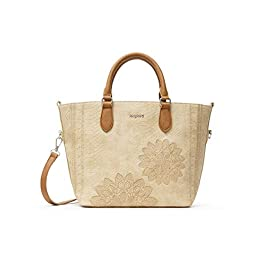 Desigual PU Hand Bag, Sac à Main. Femme, Taille Unique