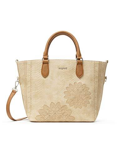 Desigual Femme PU Hand BAG U - - marron, U
