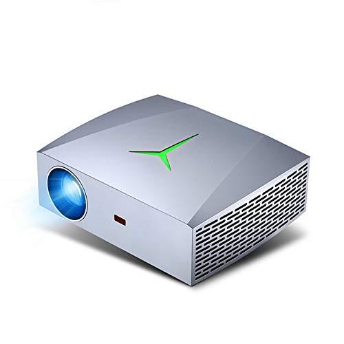 CYONGYOU Proyector LED Full HD 1920 * 1080P 5800 lúmenes 3D videoproyector
