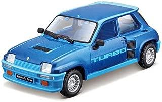 Bburago 43215 1:32 Diecast Renault 5 Turbo (1982), Blue