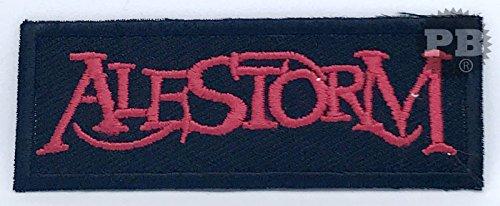 # 2228Alestorm Heavy Metal hierro Sew en bordado parche