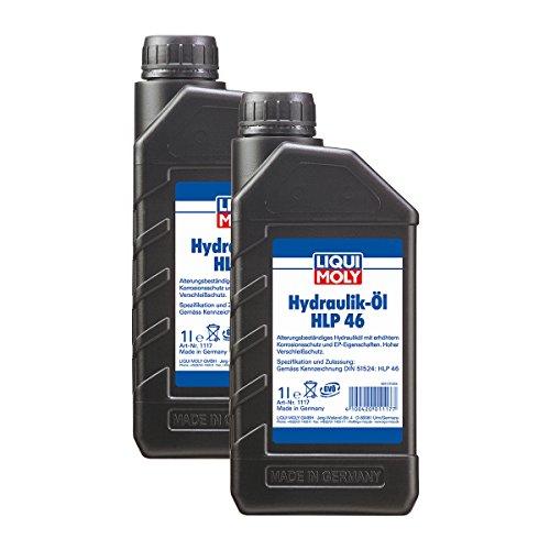 2x LIQUI MOLY 1117 Hydrauliköl HLP 46 1L