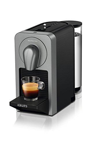 Krups Nespresso Prodigio - Cafetera (1260 W, 220-240 V, 19 bares de presión, Bluetooth), gris