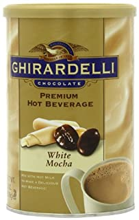 Ghirardelli Premium Hot Beverage Mix, White Mocha, 19-Ounce Cans (Pack of 4) (B001EO5W2M) | Amazon price tracker / tracking, Amazon price history charts, Amazon price watches, Amazon price drop alerts