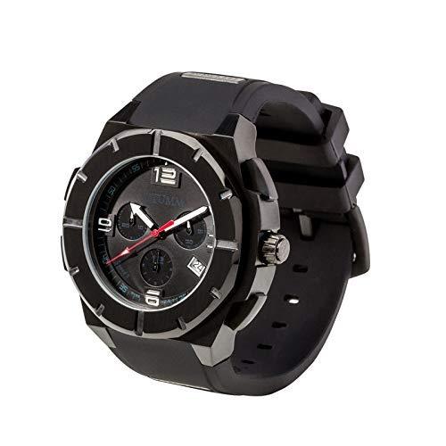 Otumm Speed Unisex Reloj Cronografo Calendario 45mm en Negro SPIIBL45-005