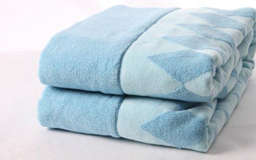 - Naturellement hypoallerg/énique et antibact/érienne Taupe Green Bear Serviette de bain//cheveux de luxe en bambou 100x50 cm