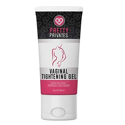 Vaginal Tightening Gel - Pretty Privates - Natural Formula for Women to Tighten The Vagina