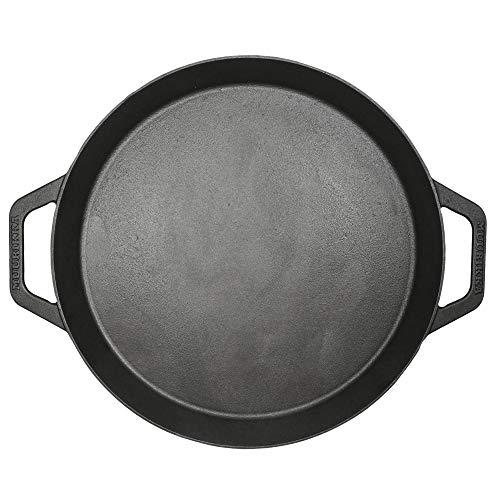 MUURIKKA Gusseisen Paellla Pfanne 48cm, Outdoor Pfanne für Grill, Gas, Offenes Feuer
