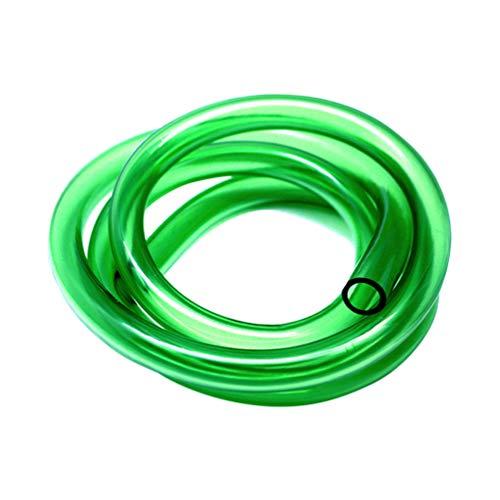 ULTECHNOVO Flexibele Luchtslang Slang Slang Siliconen Slang Voor Aquaria Hydrocultuur Terraria 2M (Groen 8Mm / 12Mm)