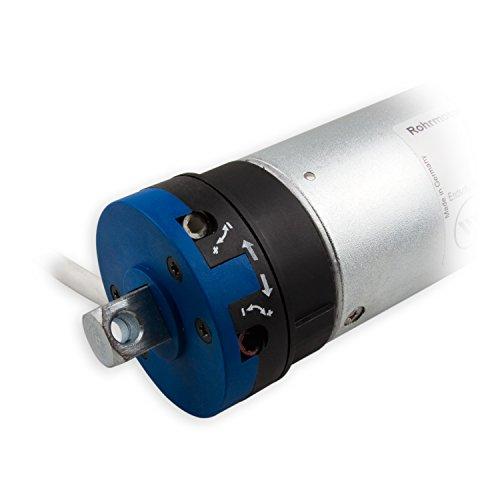 Rademacher RTBL 120/9Z RolloTube Basis Large, 120 Nm, SW70 Rohrmotor Rollladenmotor, mechanische Endpunkteinstellung, 21709296