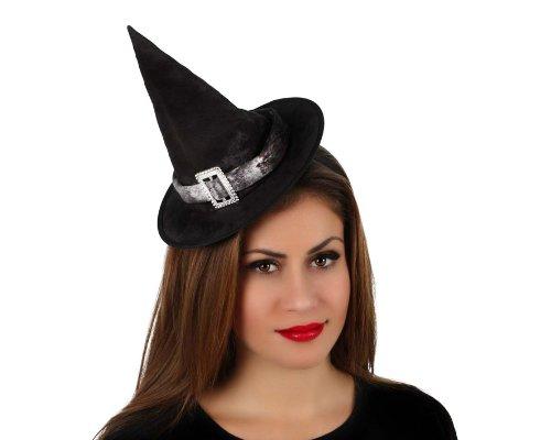 Generique - Chapeau de Sorcière Femme Halloween