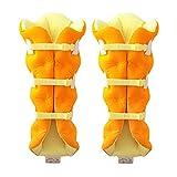 足枕 サクラ咲くまくら 両足用 オレンジ(1コ入)