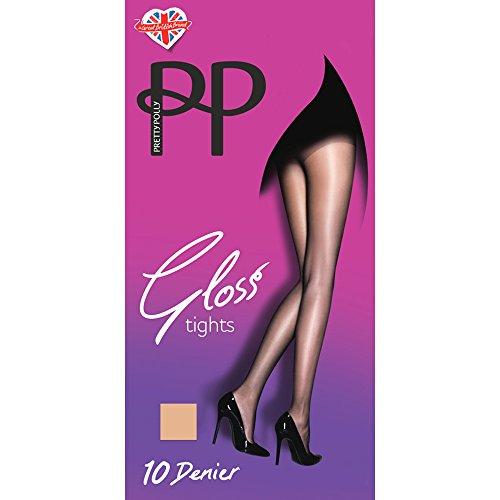 Pretty Polly Ladies Nude 10 Denier Sheer Gloss Everyday Tights (XL (48'-54'...