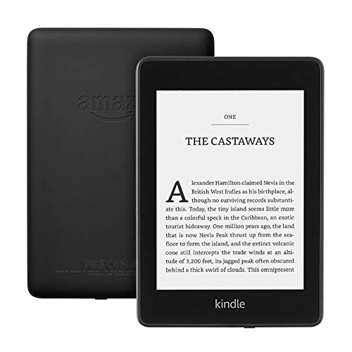 "Kindle Paperwhite | Waterproof, 6"" High-Resolution Display - Wi-Fi + Free 4G LTE, 32 GB—without special offers—Black thumbnail"